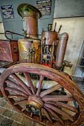 Steam Fire Engine Print by Adrian Evans