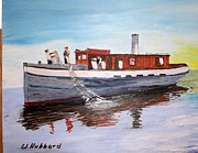 Bill Hubbard - Steam Fishing Tug John Smith