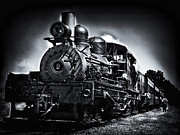 Boiler Digital Art - Steam Locomotive No. 9 by F Leblanc