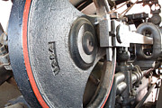 Boiler Photos - Steam Power Flywheel by Jim Finch