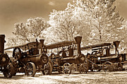 Historical Digital Art - Steam Powered Farming by Paul W Faust -  Impressions of Light