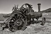Steam Tractor - Molson Ghost Town Print by Daniel Hagerman