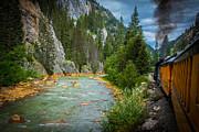 Randall Branham - Steam Train Animas River