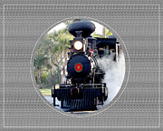 Photographs Mixed Media Originals - Steam Train by Dennis Dugan
