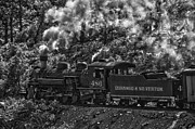 Steam And Smoke Prints - Steam Train Print by Nichon Thorstrom