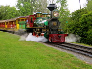 Whistles Prints - Steam Train Print by Photography  By Joy
