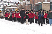 Marching Band Framed Prints - Steamboat Ski Marching Band Framed Print by Daniel Hebard