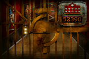 Mike Savad - Steampunk - Dystopia - The Vault