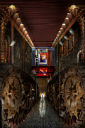 Hall Photo Framed Prints - Steampunk - Dystopian society Framed Print by Mike Savad