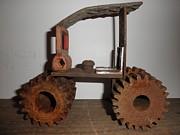 Steampunk Gears Print by Michael Sauro