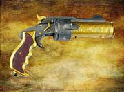 Steampunk - Gun - The Hand Cannon Print by Paul Ward