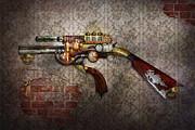 Steampunk - Gun - The Sidearm Print by Mike Savad