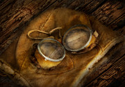 Goggles Prints - Steampunk - Hey Fly-Boy  Print by Mike Savad