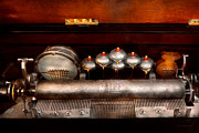Steel Drum Prints - Steampunk - Music - Play me a tune  Print by Mike Savad
