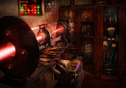 Sci-fi Photos - Steampunk - Photonic Experimentation by Mike Savad