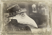 Steampunk Photos - Steampunk Plague Doctor by David April