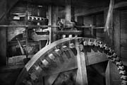 Steampunk - Runs Like Clockwork Print by Mike Savad
