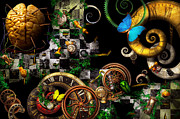 Mike Savad - Steampunk - Surreal - Mind games