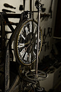Gear Posters - Steampunk - Timekeeper Poster by Paul Ward