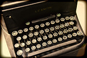 Typewriter Keys Photo Posters - Steampunk - Typewriter - The Age of Industry Poster by Paul Ward