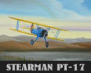 Stuart Swartz - Stearman PT-17 Training...