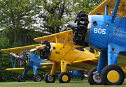 Stearman Prints - Stearman Three we are... Print by Aero Spot com