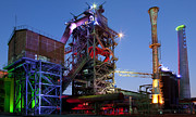 Production Photos - Steel Industry Blast Furnace by Dirk Ercken