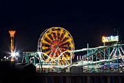 Roller Coaster Originals - Steel Pier by Eduard Moldoveanu