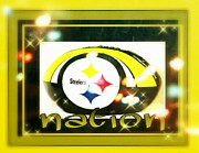 Football Mixed Media - Steelers Nation by Tracie Howard