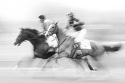 Thoroughbred Horse Art - Steeplechase #2 - FS000283 by Daniel Dempster
