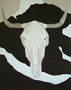 Sue McDonald - Steer Skull