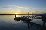 Featured On Fineart America - Steilacoom Wharf by Sean Griffin