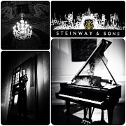 Grand Piano Digital Art Posters - Steinway and Sons Poster by Natasha Marco