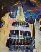 Guitare Posters - Stellar Rift Poster by Michael Creese