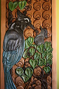 Stellar Sculpture Originals - Stellars Jay Door by Teddy n Laurie Mahood
