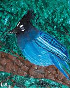 Stellar's Jay Print by Lloyd Alexander