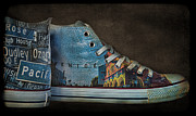 Shoe String Prints - Step Into Venice Print by Norma Warden