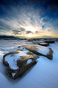 Alaska Metal Prints - Step Stone Metal Print by Ed Boudreau