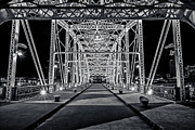 Cumberland River Framed Prints - Step Under the Steel Framed Print by CJ Schmit