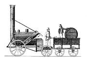 Stephensons Rocket 1829 Print by Science Source
