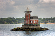Stepping Stones Photo Framed Prints - Stepping Stones Lighthouse I Framed Print by Clarence Holmes