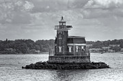 Stepping Stones Art - Stepping Stones Lighthouse II by Clarence Holmes