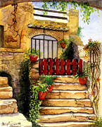 Watercolor Painting Originals - Steps by Abhijit Dharankar