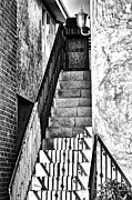 Stair-rail Framed Prints - Steps Framed Print by Camille Lopez