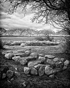 Stone Steps Prints - Steps Manzanar CA Print by Troy Montemayor