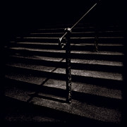 Minimalism Photos - Steps to Advocates Close by David Bowman