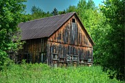 Off The Grid Framed Prints - Sterling Valley Barn Framed Print by John Nielsen