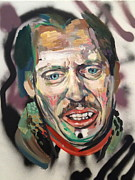 Lebowski Paintings - Steve Buscemi by Britt Kuechenmeister