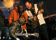 Booker T. Photo Prints - Steve Cropper and B.B. King Print by Don Olea