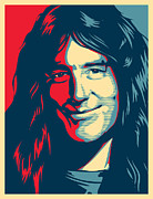 Bands Digital Art Prints - Steve Harris Print by Unknow